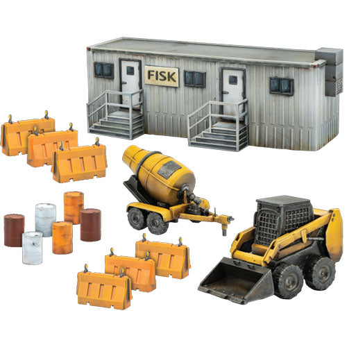Marvel: Crisis Protocol Miniatures Game - NYC Construction Site Terrain Pack Expansion