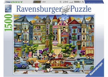 Ravensburger The Painted Ladies - 1500 Piece Jigsaw