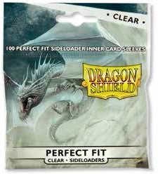 Sleeves Dragon Shield Perfect Fit Sideloader 100/Pack Clear