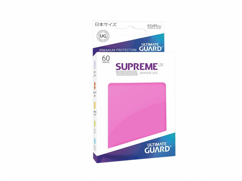 Ultimate Guard Supreme Ux Sleeves Size Pink (60)