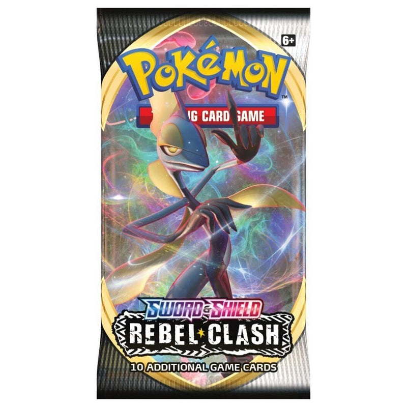 Pokemon TCG Sword and Shield - Rebel Clash Booster - Good Games