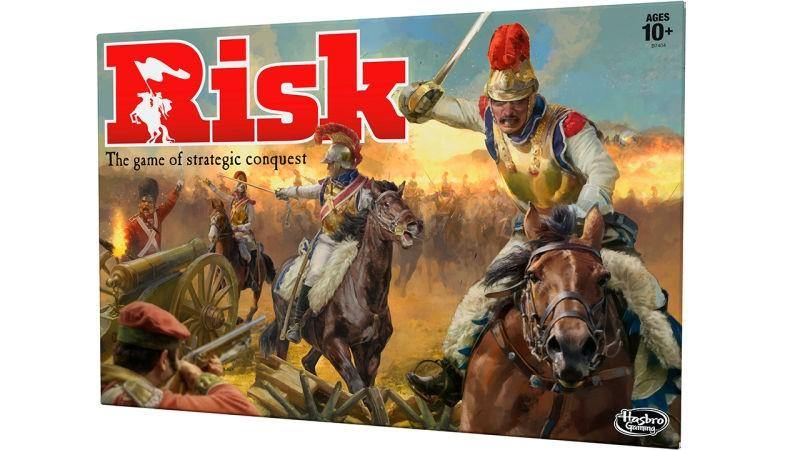 Hasbro Risk Classic (Brown Cover) - Good Games