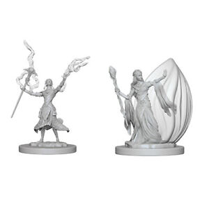 Dungeons & Dragons - Nolzurs Marvelous Unpainted Miniatures Elf Female Wizard