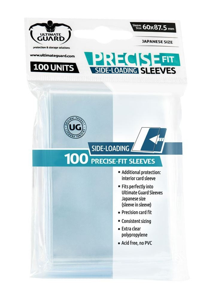 Sleeves Ultimate Guard Precise Fit Side Loading Size (100)