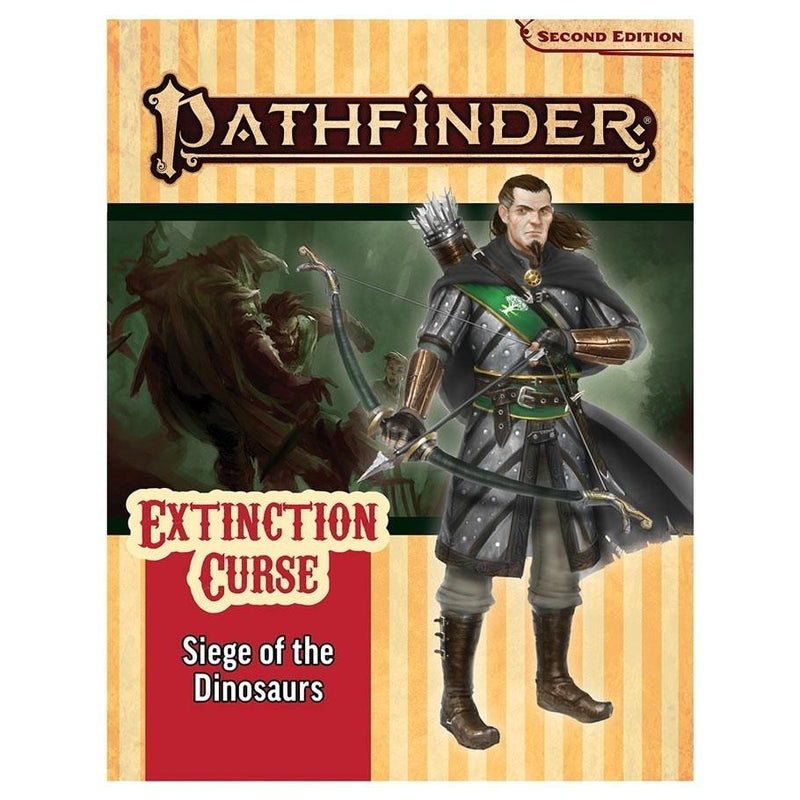 SIEGE OF THE DINOSAURS EXTINCTION CURSE ADVENTURE PATH 4 - PATHFINDER 2ND EDITION - Good Games