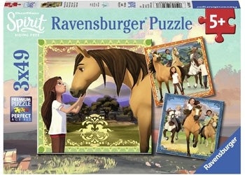Ravensburger Spirit Adventure on Horses - 3x49 Piece Jigsaw