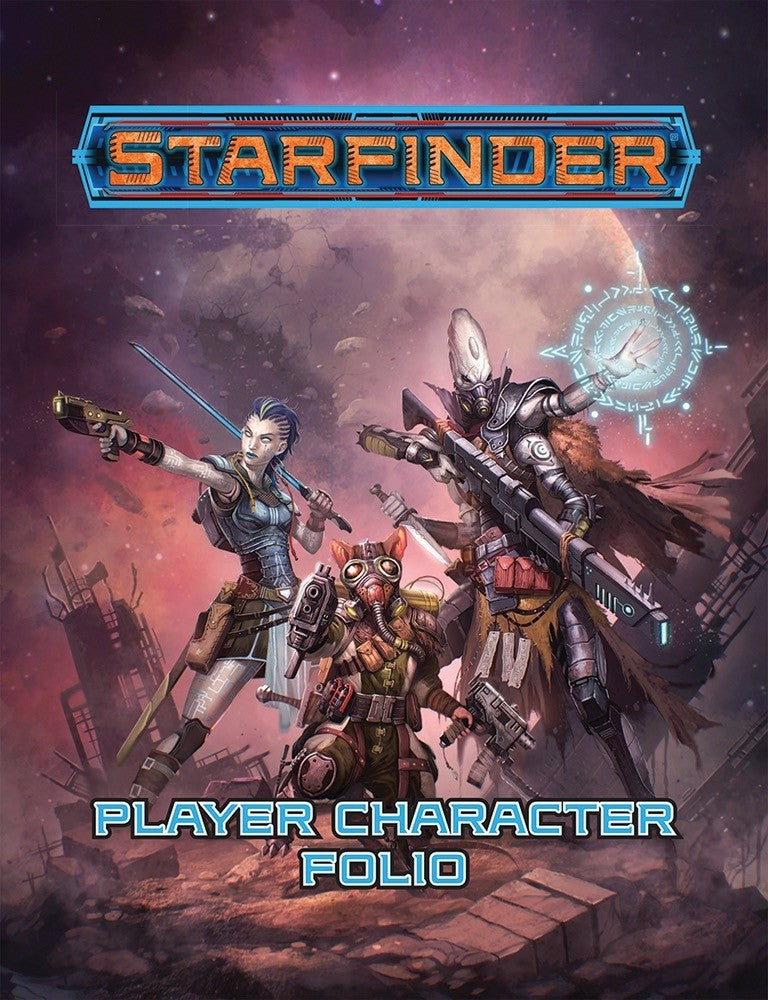 Starfinder Rpg Player Character Folio