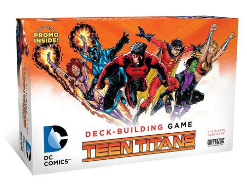 Dc Comics Teen Titans Deck Building Game - Good Games