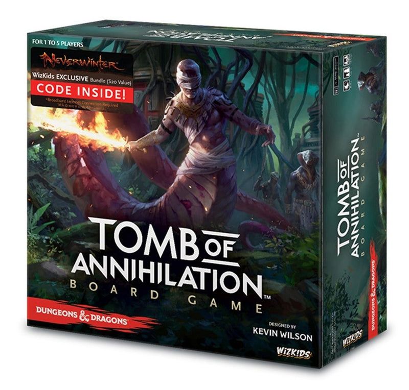 Dungeons & Dragons Tomb Of Annihilation Adventure System Board Game (Standard Edition)