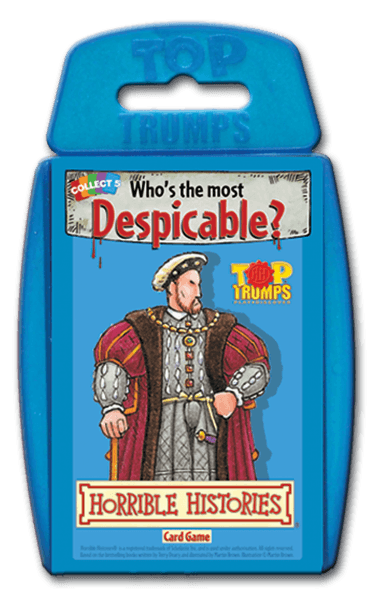 WMA Top Trumps Horrible Histories - Good Games