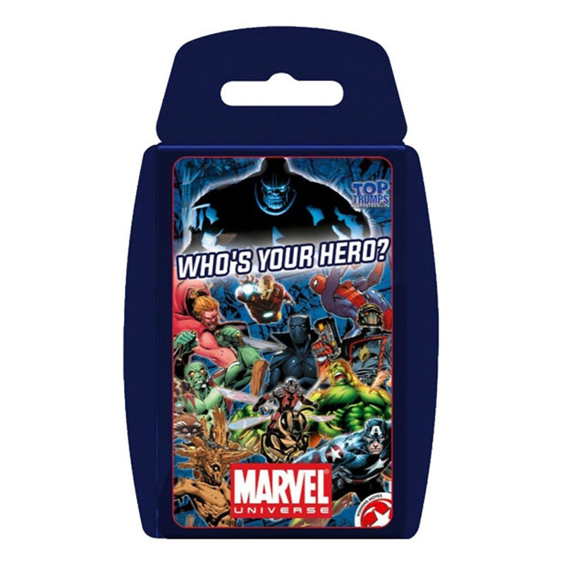 Wma Top Trumps Marvel Universe