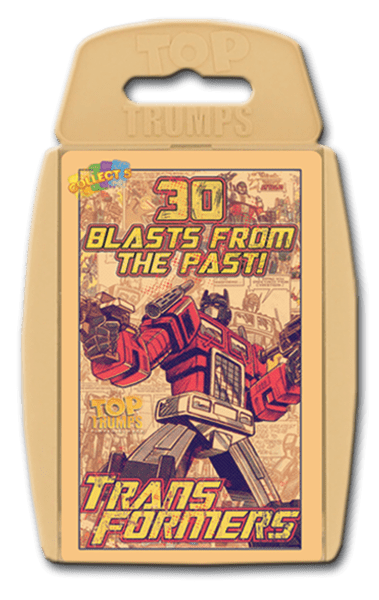 WMA Top Trumps Transformers - Good Games