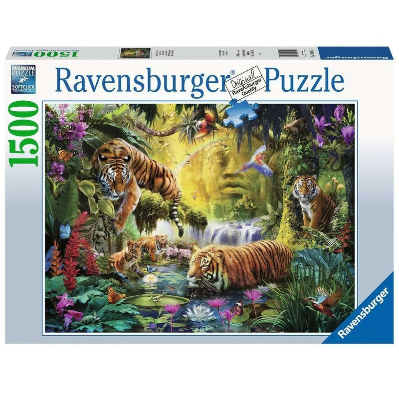 Ravensburger Tranquil Tigers - 1500 Piece Jigsaw - Good Games