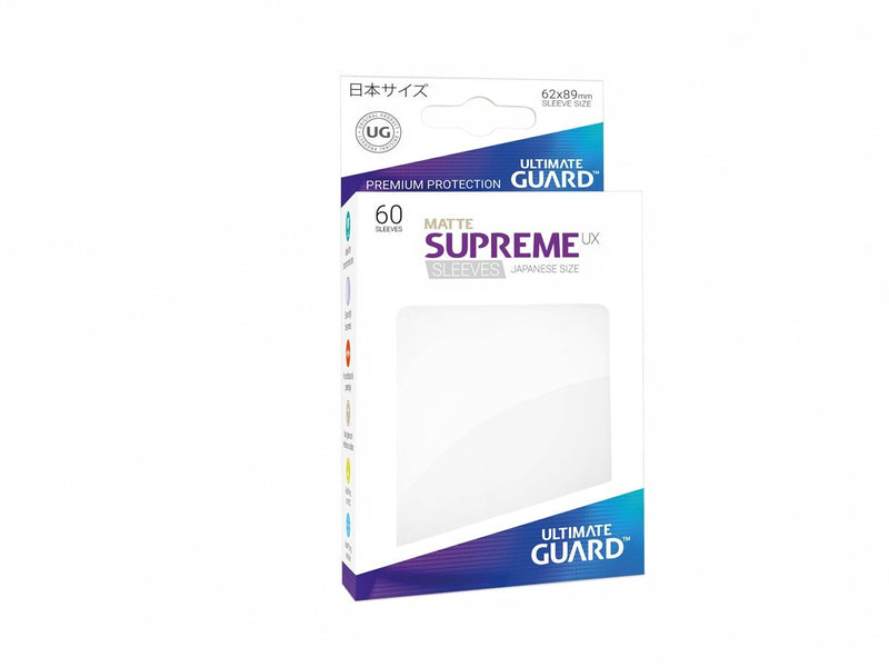 Ultimate Guard Supreme Ux Sleeves Size White (60)