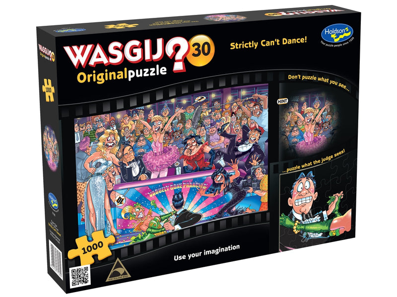 Wasgij? Original 30 - Strictly Can't Dance - 1000 Piece Jigsaw