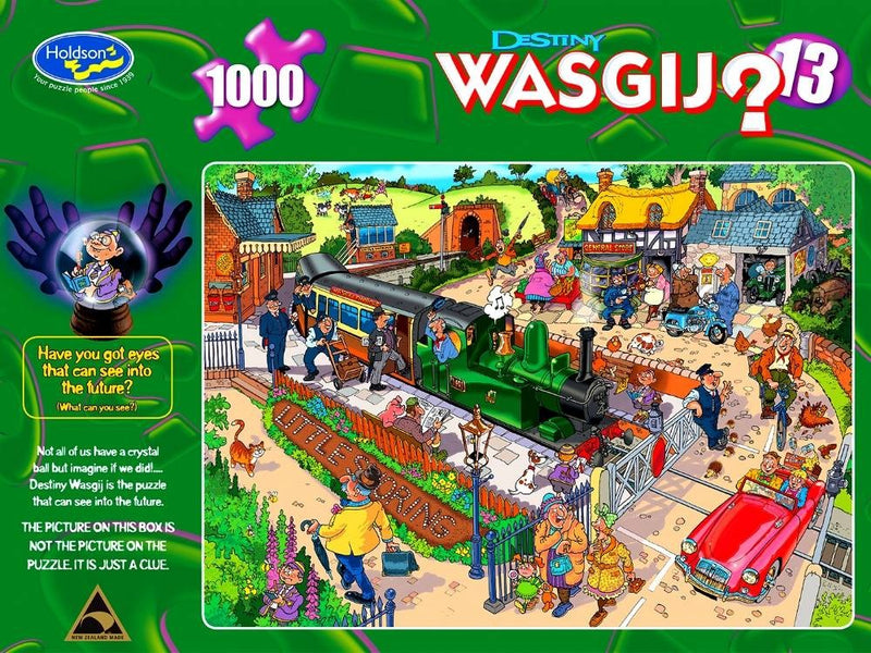 Wasgij? Destiny: 13 Commuting Chaos 1000pc Jigsaw Holdson