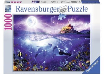 Ravensburger Whales in the Moonlight - 1000 Piece Jigsaw