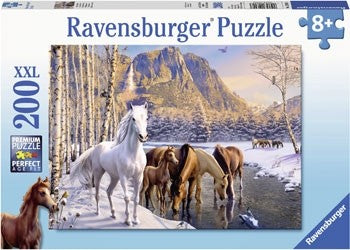 Ravensburger Winter Horses Puzzle - 200 Piece Jigsaw