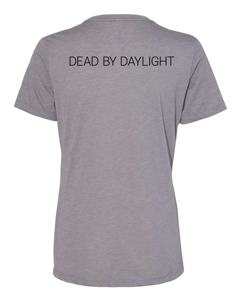 Dead by Daylight Grey Female T-shirt - Back