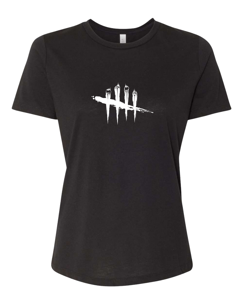 Dead by Daylight Black Female T-shirt with Logo