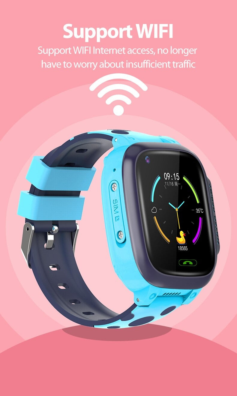 Wifi Supported 4G Kids Smart Watch