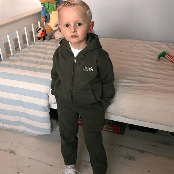 Younger boys Zip Jacket tracksuit