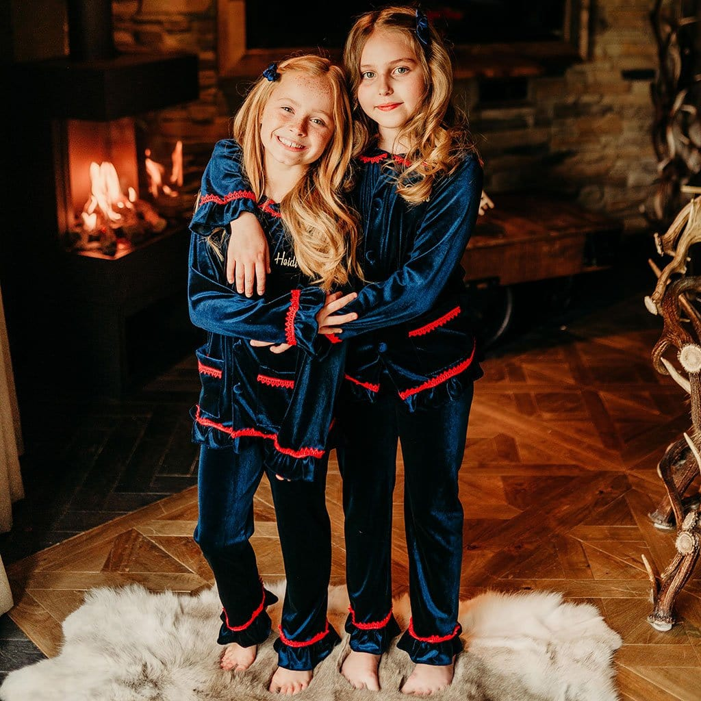 Girls Luxe Christmas Pyjamas - PRE ORDER