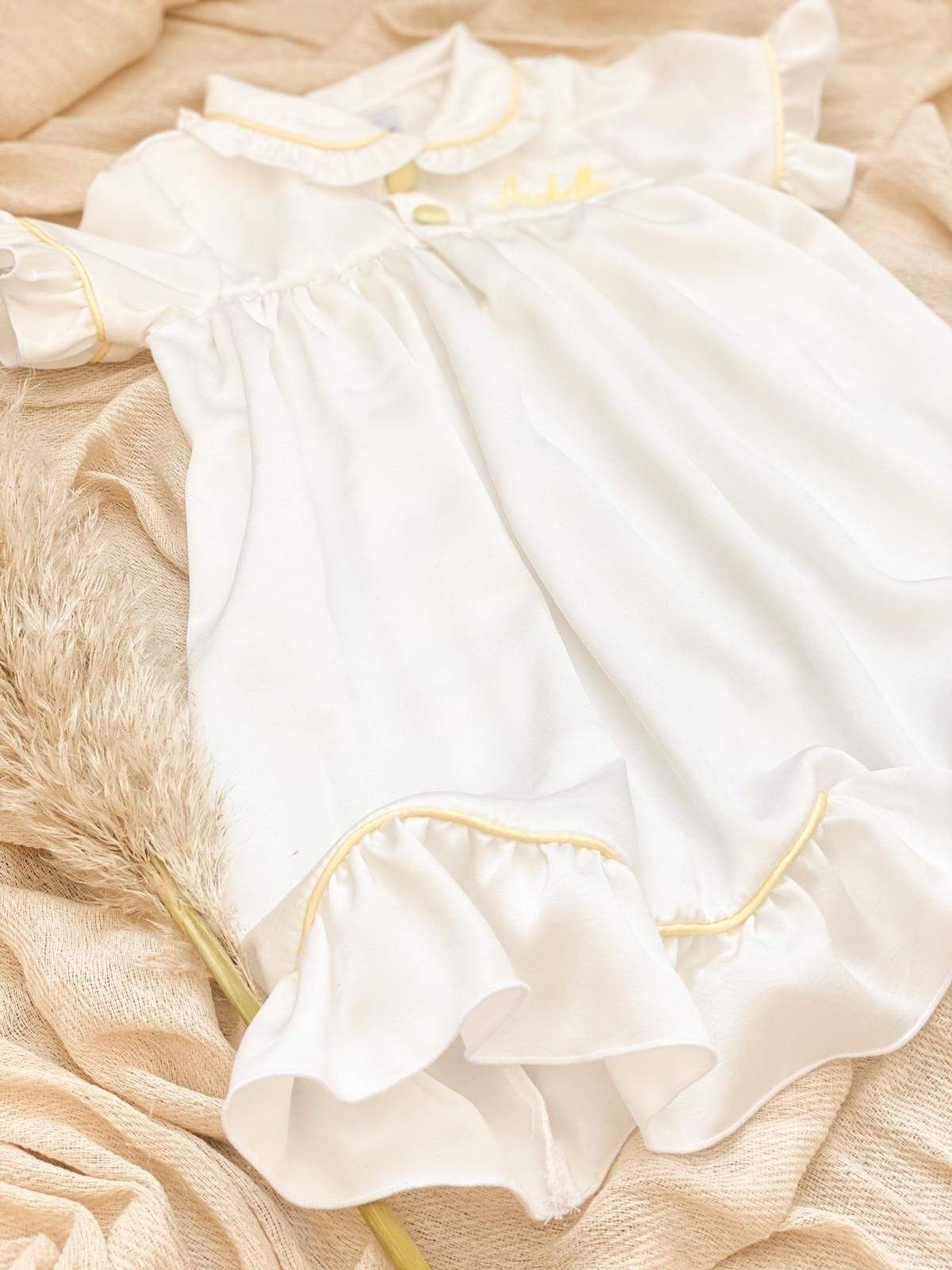 Girls White Easter Nightdress