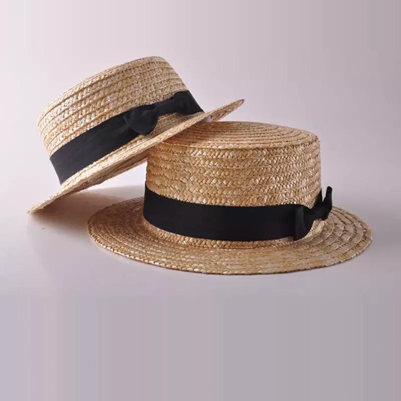 Girls Summer Straw Hat - 3 Colours - PRE ORDER