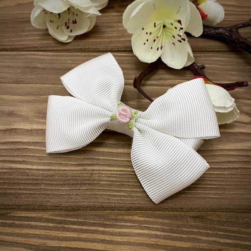 Sugar and Spice Pink Piggie Bow
