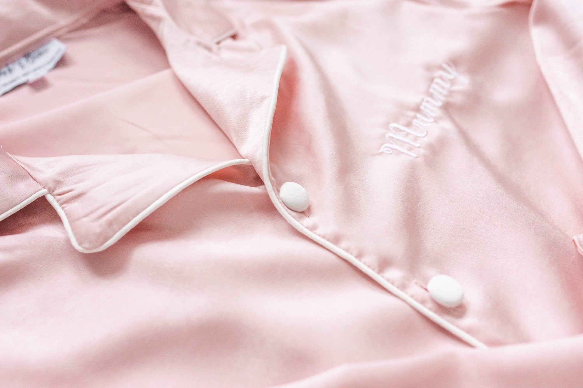 Ladies Blush Pink Pearl Pyjamas