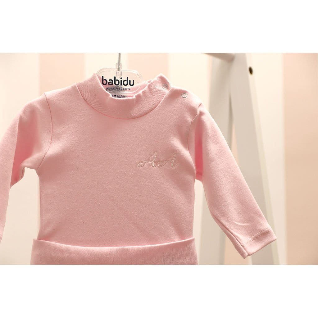 Babidu Pink high neck