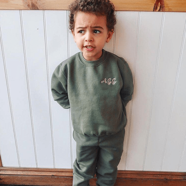 Older boys Sweatshirt Tracksuit Set