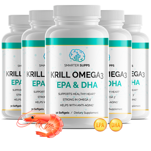 5 Bottles of Krill Omega 3<br> 35% Discount <br>FREE SHIPPING