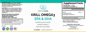 3 Bottles of Krill Omega 3<br> 30% Discount <br>FREE SHIPPING