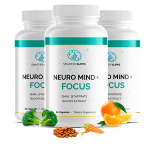 3 Bottles of Neuro Mind + Focus <br> 25% Discount <br>FREE SHIPPING