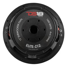 "Load image into Gallery viewer, ELITE 12"" SUBWOOFER 4 OHM 1600 WATTS WITH CARBON FIBER DUST CAP DVC"