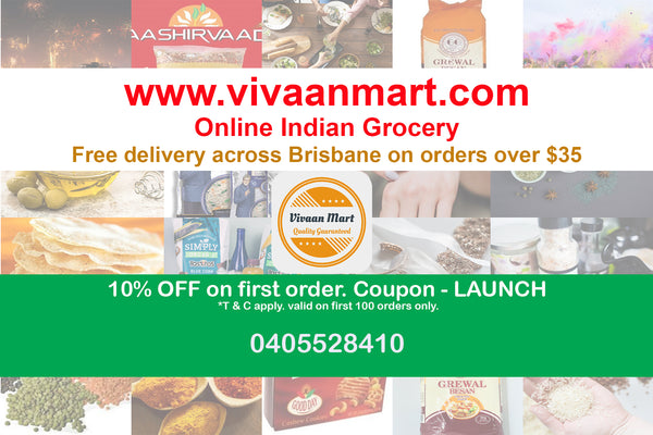 Indian grocery free delivery in Brisbane CBD