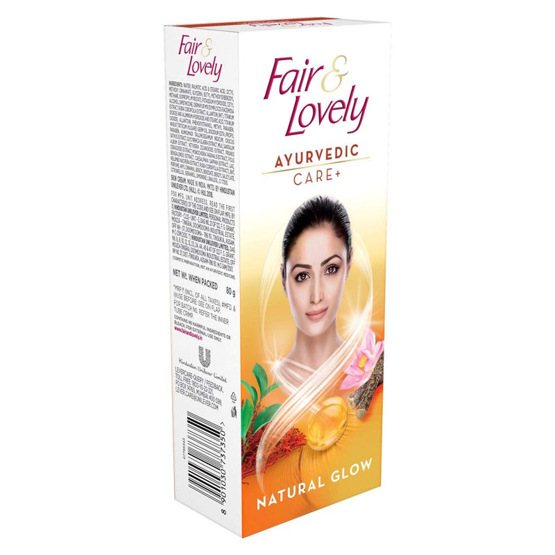 Fair & Lovely Ayurvedic Care + Face Cream, 50 gm