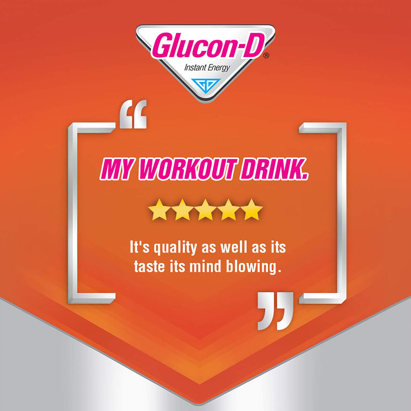 Glucon-D Instant Energy Health Drink Tangy Orange