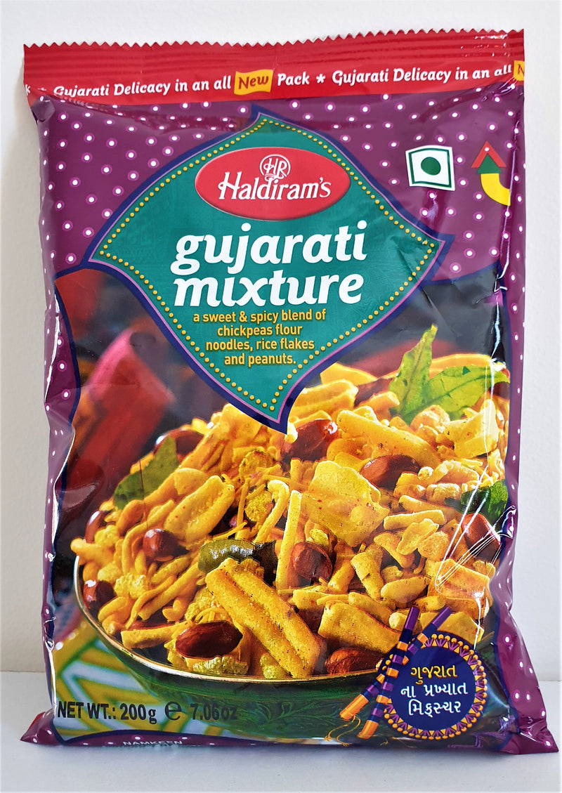 Gujarati Mixture | Haldiram's Gujarati mix namkin 200 gm - Buy 1 Get 1 Free