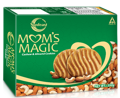 Sunfeast Mom's Magic Cashew Almond Cookies - 250 gm