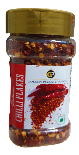 Chilli Flakes in Jar | Red chilli Flakes 65gm