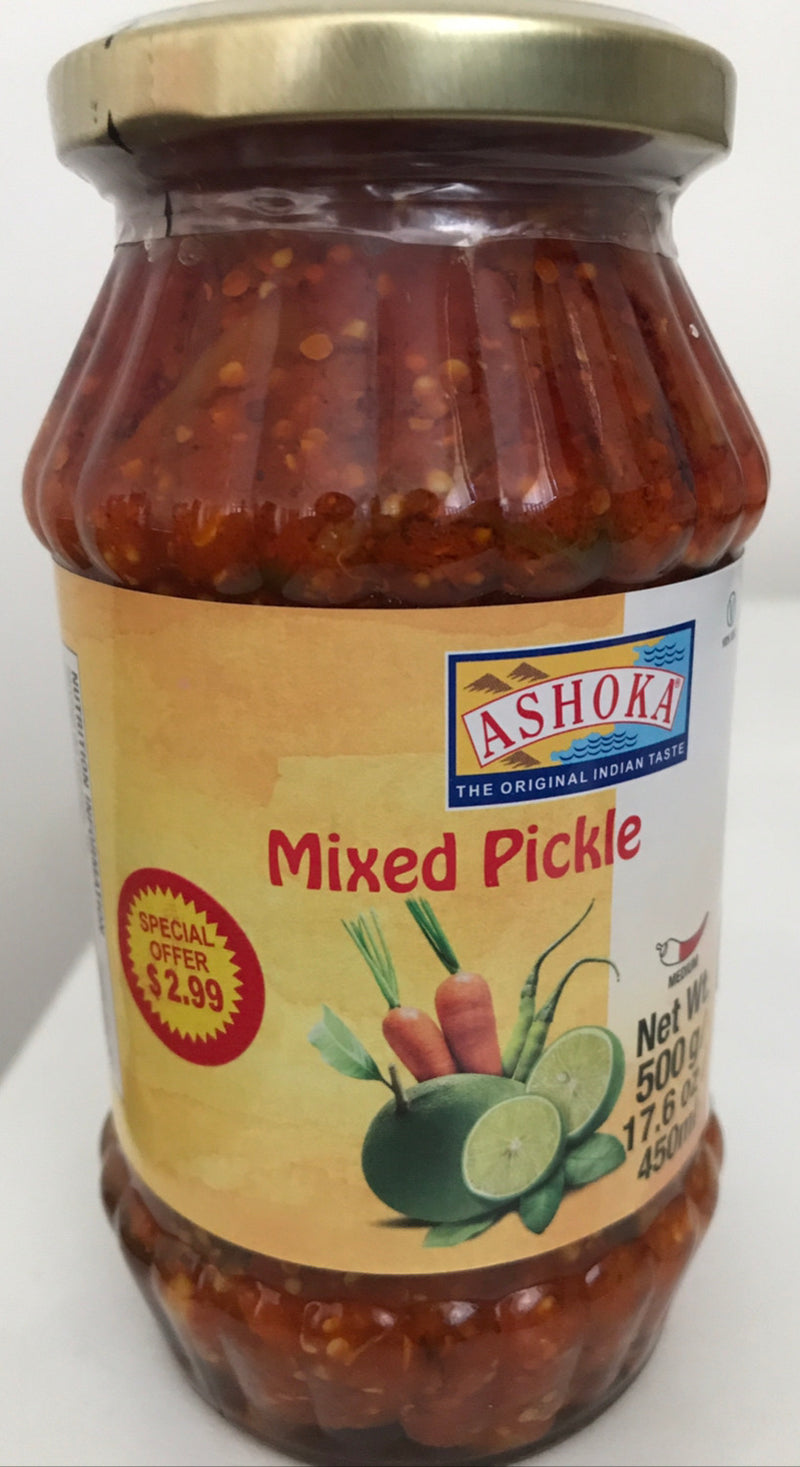 Mixed Pickle by Ashoka - Mixed Aachar - 500 gm