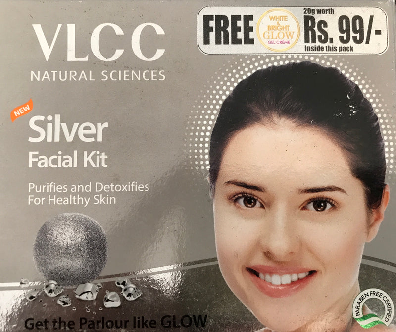 VLCC Silver Single Facial Kit