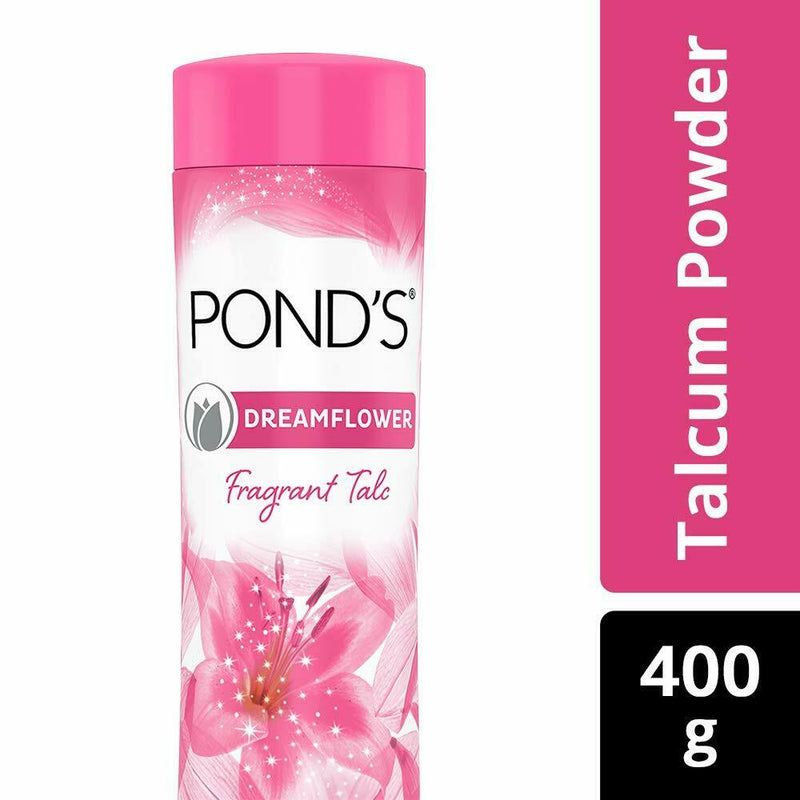 POND'S Dreamflower Fragrant Talc Powder, Pink