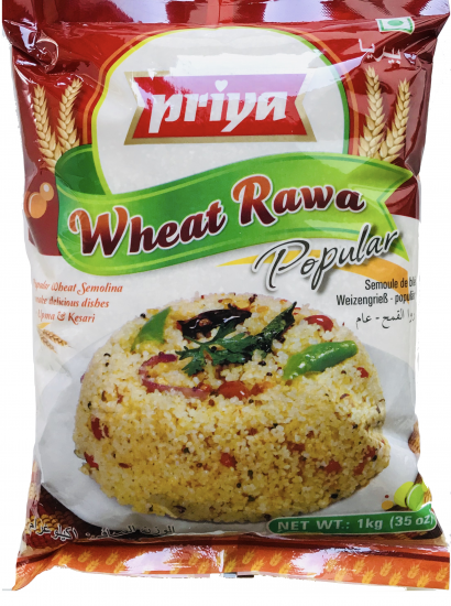 Wheat Rawa | Rava by Priya | 1 kg Daliya