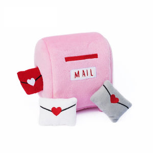 Zippy Paws Burrow Mailbox & Love Letters Toy