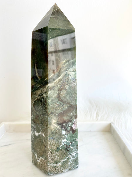Moss Agate Tower