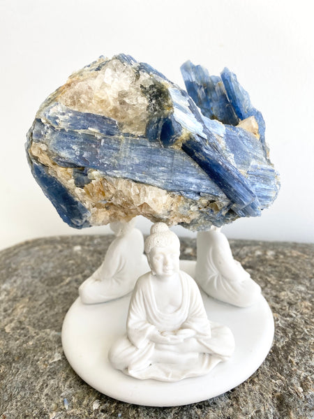 Blue Kyanite Quartz Specimen #7